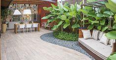 Espaço gourmet e jardim .  arquitetura e construção . por Studio Carlito e Renata Pascucci.