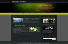 CSS website Templates - Green Nature CSS Template Download #css ...