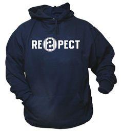 Derek Jeter Retirement -New York Yankees Captain - Re2pect Hoodie Sweat Shirt   #Jerzees