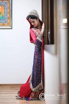 Absolutely gorgeous bridal lengha!