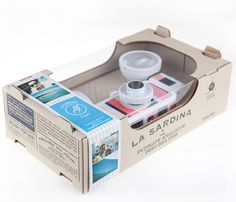 Lomography - La Sardina Beach Cameras Edition by Montserrat Llaurado, via Behance