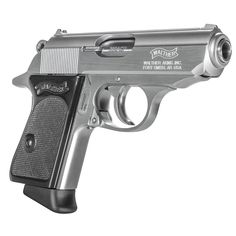 The Walther PPK inspired an entirely new category in the firearm industry, now known as the concealed carry pistol. Keep your CCW classy. Weapons Guns, Guns And Ammo, Gun Closet, Walther Pp, Bushcraft, Western Holsters, Pocket Pistol, Shooting Guns, Custom Guns