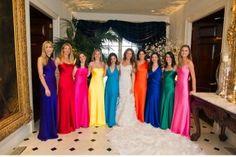 rainbow-bridesmaids