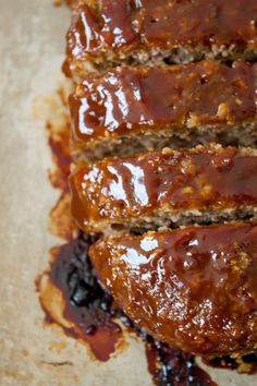 This honey barbecue meatloaf recipe is the very best! With honey for sweetness and barbecue sauce for smokiness, it's everyone's favorite comfort food!