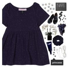 """""""[🌌] SILENT NIGHT"""" by korekara ❤ liked on Polyvore featuring Topshop, NARS Cosmetics and Comme des Garçons"""