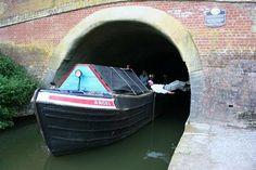 Rob 'legging' : ) @ Braunston tunnel, Braunston Historic Boat Weekend www.calcuttboats.com