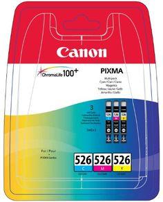 #Bürobedarf: Canon CLI-526C/M/Y Multi-Pack cyan/magenta/yellow: Kaufen Neu: EUR 24,99 [Germany]