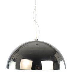 Lounge Zone Retro Pendelleuchte Pendellampe Hngelampe Hngeleuchte Design Lampe Leuchte Vintage Wohnzimmer Esszimmer Restaurant CHROME