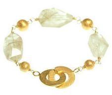 Raw Rough Gemstone Bracelets - Anne Maa Designs