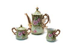 SALE: Lefton Mid Century Coffee/Tea Pot Creamer by AntiqueApplePie