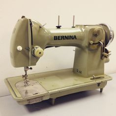 Wow, that's a great vintage BERNINA!