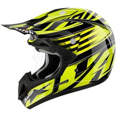 2016 Airoh Jumper Helmet - Assault Yellow Gloss