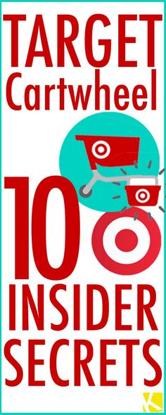 Target Cartwheel: 10 Insider Secrets You Must Know #frugal Frugal Living Tips