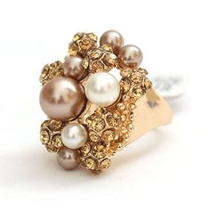 Vintage Pearl Ring from China