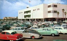 May Company store in Lakewood Mall. Long Beach, CA Lakewood California, Long Beach California, Vintage California, Southern California, California History, Long Beach Pike, Hotel California, Photos Du, Old Photos