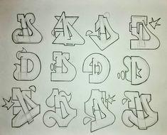 graffiti art D. Graffiti Text, Graffiti Letter D, Wie Zeichnet Man Graffiti, Graffiti Sketch, Graffiti Lettering Alphabet, Tattoo Lettering Fonts, Graffiti Drawing, Doodle Lettering, Street Art Graffiti