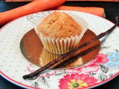 Muffins à la carotte façon carrot cake