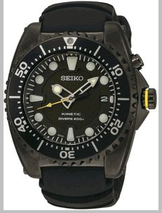 Men's Seiko Kinetic Diver's Watch SKA427P2