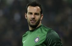 Samir Handanović is a Slovenian footballer, who plays as a goalkeeper for Italian club Inter Milan and the Slovenia national football team. He played for Udinese between 2004 and 2012.