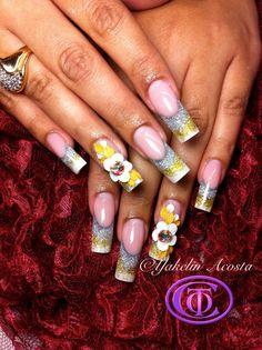 Royalty .... #elegant #bridal #nail design