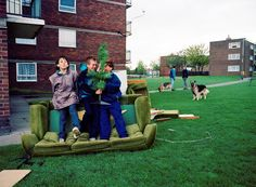 estate: post-industrial ruin at the end of thatcher's britain. Robert Clayton.