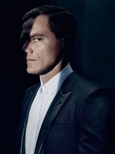 Michael Shannon, photographed byRobbie Fimmano for Matches Fashion Man, S/S 2014.