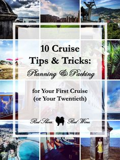 Cruising soon? Here are 10 Cruise Tips & Tricks for Planning and Packing for Your First Cruise (or Twentieth!). Mediterranean, Alaskan, Baltic, British Isles, Caribbean, Bahamas, Atlantic Cruises on Carnival, Disney, Norwegian, Royal Caribbean, MSC, and Princess Cruise Lines