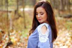 Fall Lace Top on www.lululamour.com