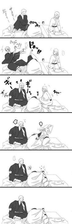 Naruto became a third wheel haha