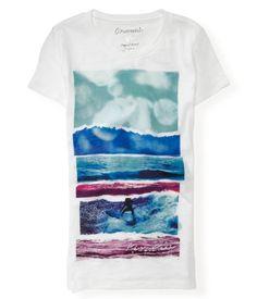 Water Scene Surf Graphic T