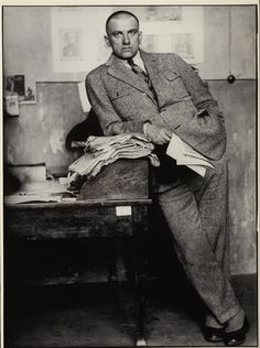 Alexander RodchenkoPoet Vladimir Mayakovsky in editorial office, Moscow 1927