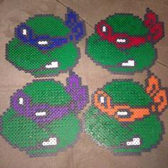 Wall decorations of the teenage mutant ninja turtles