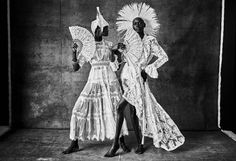 'Santería' ph. Mariano Vivanco and stylist, Jimi Urquiaga, Models – Ajak Deng, Alicia Burke, Achok Majak, Duckie Thot, and Saul Rodriguez