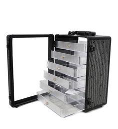 nail polish storage case | Home » Beauty Case » Beauty Case » Sparkly White Nail Art Case