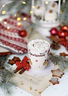 """winter-babydoll: """" Red Winter Moodboard I'm so ready for the Christmas season, this heat in July isn't for me ❤️☕️🎄 """" Christmas Coffee, Christmas Mood, Christmas Photos, Christmas Greetings, Vintage Christmas, Xmas, Christmas Kitchen, All I Want For Christmas, All Things Christmas"""
