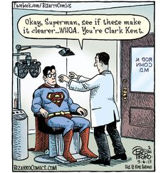 Should have just suffered in silence, Superman!