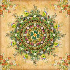 Mandala Flora by Bedros Awak