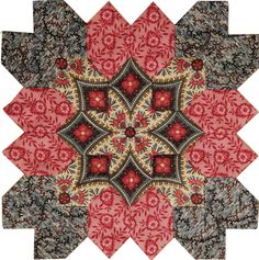Lucy Boston POTC Block 39 from Pieceful Gathering Quilt Shop. Kit available - call 847-516-7911