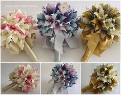 Lindos Buquês de Origami by Adriana Suzuki
