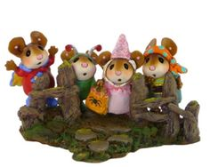 cute+halloween+wee+forest | Halloween: Wee Forest Folk - The Fearsome Foursome