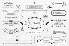 Premium quality banner collection Free V. Logo Boutique, Cookbook Template, Vintage Banner, Vintage Borders, Free Banner, Business Card Psd, Vector Free Download, Free Logo, Banner Vector