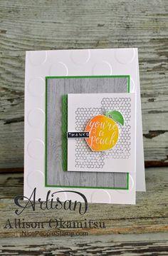 nice people STAMP!: Silhouettes & Script Card: Stampin' Up! Artisan Blog Hop