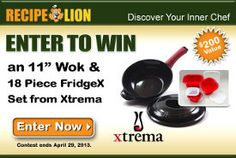 Xtrema Ceramic Cookware Giveaway