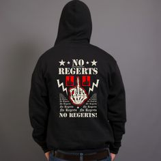 No Regerts Finger Black Sportage 3950 Marshall Kangaroo Hoodie - Funny Drinking Hoodies,Alcohol Hoodies,Alcohol Clothing,Funny Drinking Quotes,Funny Drinking Memes,Moonshine Hoodies,Beer Hoodies,Wine Hoodies,Corona Hoodies,Tequila Hoodies,Embroidery Hoodies,Typographic Hoodies,Graphic Hoodies,Funny Hoodies,Drank,Sober,Alco Tops,Drunk,Cheers,Salud,Skål,Prost,Proost,Tchin,Santé,Cin Cin,Salute,Na Zdrowie,Tim-Tim,Fire In The Hole,Shirts,Sweatshirts Image Processing, Image List, Light Beer, Cool Hoodies, Graphic Design Art, Black Hoodie, The Outsiders, Finger, Fingers