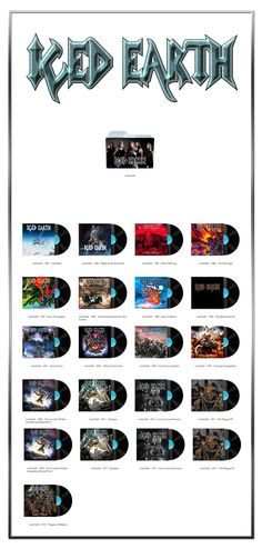 Album Art Icons: Iced Earth