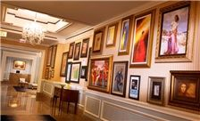 The Henry Hotel // Dearborn // In collaboration with the Park West Gallery, The Henry Hotel is packed with nearly 2000 stunning artworks. From Picasso, Rembrandt and Renoir, to modern masters including Peter Max and sculptor Nano Lopez, Park West's stellar collection adds bold accents to traditional elegance. You are encouraged to immerse yourself in the art, and each bedroom contains unique pieces by local artists; furthermore the Hotel treats guests to take home a small seriolithograph…