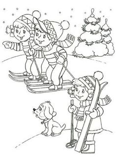 winter coloring page for kid (3)