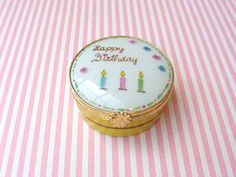 Sweet Little Hand Painted Limoges Trinket Box by TheJewelMystique, $40.00