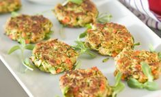 Old Bay seasoning added to these vegetable cakes makes them taste a bit like crab cakes.