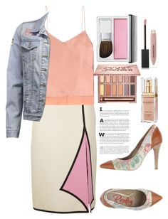 """114"" by erohina-d ❤ liked on Polyvore featuring Gucci, Edun, Replay, Clinique, Urban Decay, Elizabeth Arden and Burberry"
